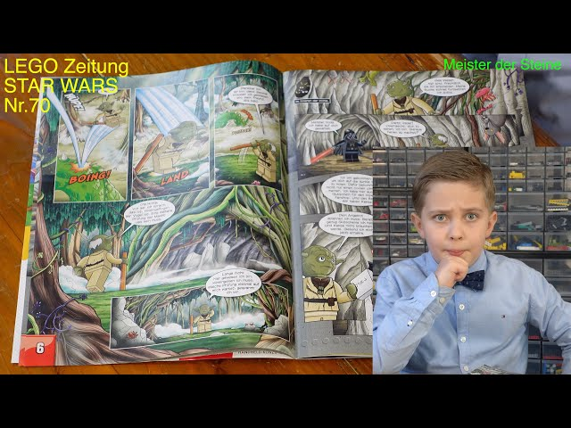 LEGO, STAR WARS, Magazin, März 2021, Nr.70, Meister der Steine
