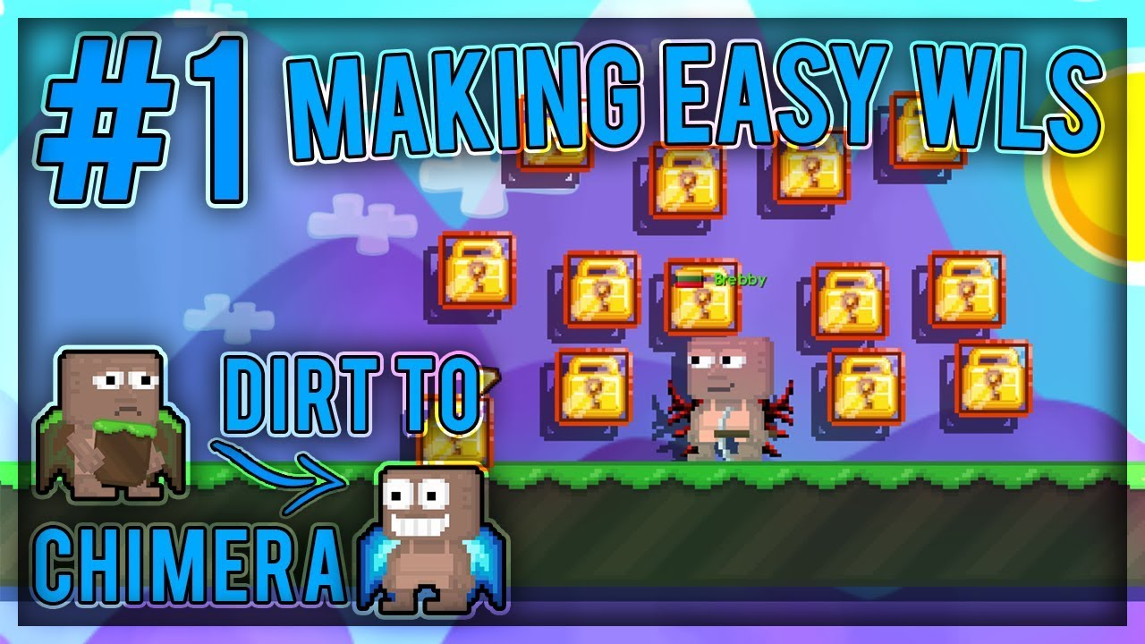 Steel Chair Growtopia Booster Seat High Getting Easy 14 Wls Dirt To Chimera Wings 1 Youtube
