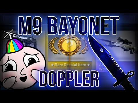 CS:GO M9 BAYONET DOPPLER UNBOXING