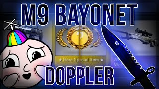 CS GO M9 BAYONET DOPPLER UNBOXING