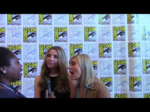 Sarah Chalke Beth Smith and Spencer Grammer Summer Smith Rick and Morty S3