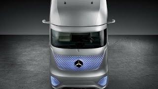 видео Mercedes-Benz представил концепт беспилотного грузовика