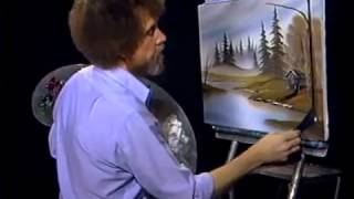 Bob Ross - Gemälde Jäger haven - Malerei Video