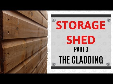 Cladding A Shed - Really Simple