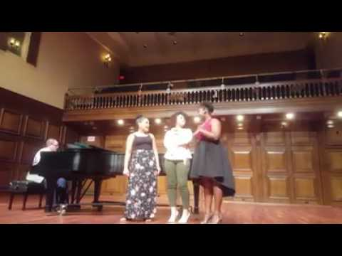 Student Performance: Olivia, India and Jade singing Fabulous Baby from Sister Act the Musical