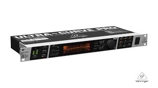 ULTRACURVE PRO DEQ2496 High-Precision Digital 24-bit/ 96 kHz EQ/RTA Mastering processor