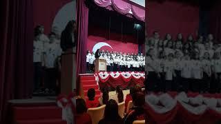 29 Ekim Cumhuriyet Bayramı Açılış Konuşması