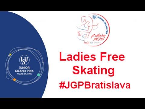 2015 ISU Junior Grand Prix Bratislava Ladies Free Skate
