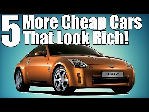 5 More Cheap Cars That Make You Look Rich!