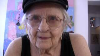"91 yr. old female drummer - Allee Willis Presents ""Hey Jerrie"""