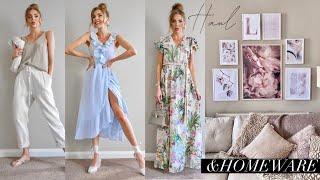 NEW IN H&M HAUL & TRY ON + HOMEWARE UPDATE // July 2020