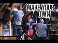 Make Your Own Stand-Alone Heavy Bag Stand+Pull-up Station! (Feat. God)