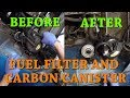 Datsun 280Z Ep.19 Replacing the Fuel Filter and Carbon Canister Filter