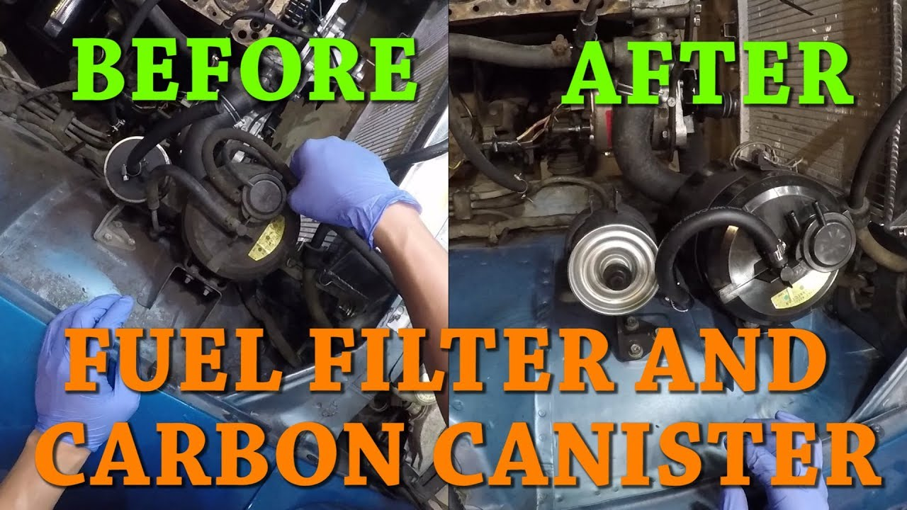 280z Fuel Filter Datsun Location Wiring Diagrams Pump Ep 19 Replacing The And Carbon Canister 16400