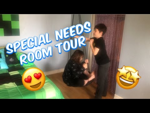 Special Needs Room Tour/ A Day In The Life Of A Special Needs Mom
