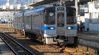 JR四国 予讃線 多度津駅に列車到着