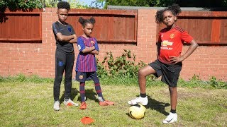 Ultimate Football Skill Challenge! | Twin vs Twin
