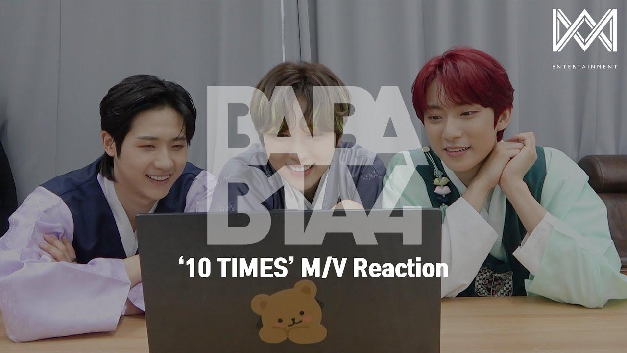[BABA B1A4 4] EP.43 '10 TIMES' M/V Reaction