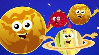 Gambar cover Planet lagu | belajar planet nama | tata surya sajak | pendidikan video | Planets Song in Indonesian