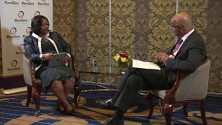 Interview with Rebecca Miano  MD & CEO KenGen, FY 2016/2017 Results
