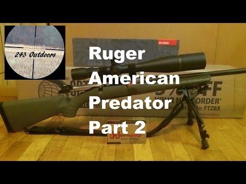Ruger American Predator 6 5 Part 2 - YouTube