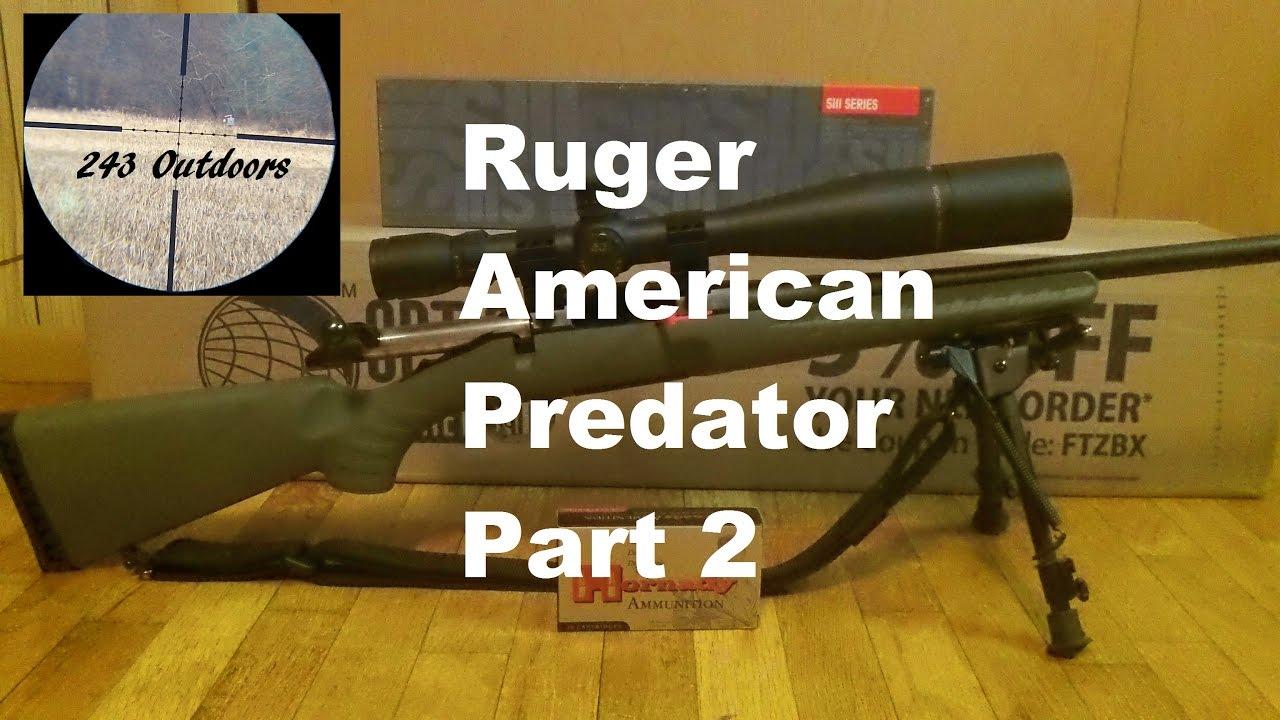 ruger american predator akcijų pasirinkimo sandoriai