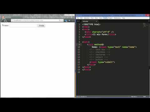 Form E Text Input In HTML
