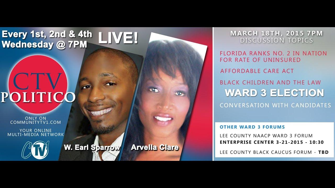 (3-18-2015) CTV POLITICO - Ward 3 Candidates