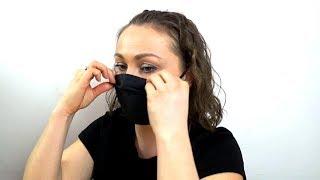 МАСКА СВОИМИ РУКАМИ Выкройка маски детского размера от вирусов Как использовать и носить маску