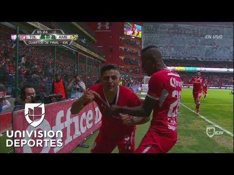 Golazo impresionante de Alexis Vega y Toluca empata al 95