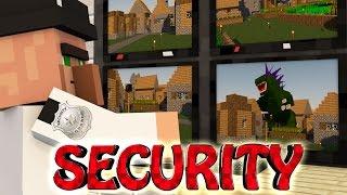 Minecraft | SECURITY MOD Showcase! (Base Defense, Traps, Lasers)