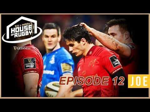 Munster boss Leinster and Sexton, JJ Hanrahan chat, 2018 awards - Baz & Andrew's House of Rugby Ep12