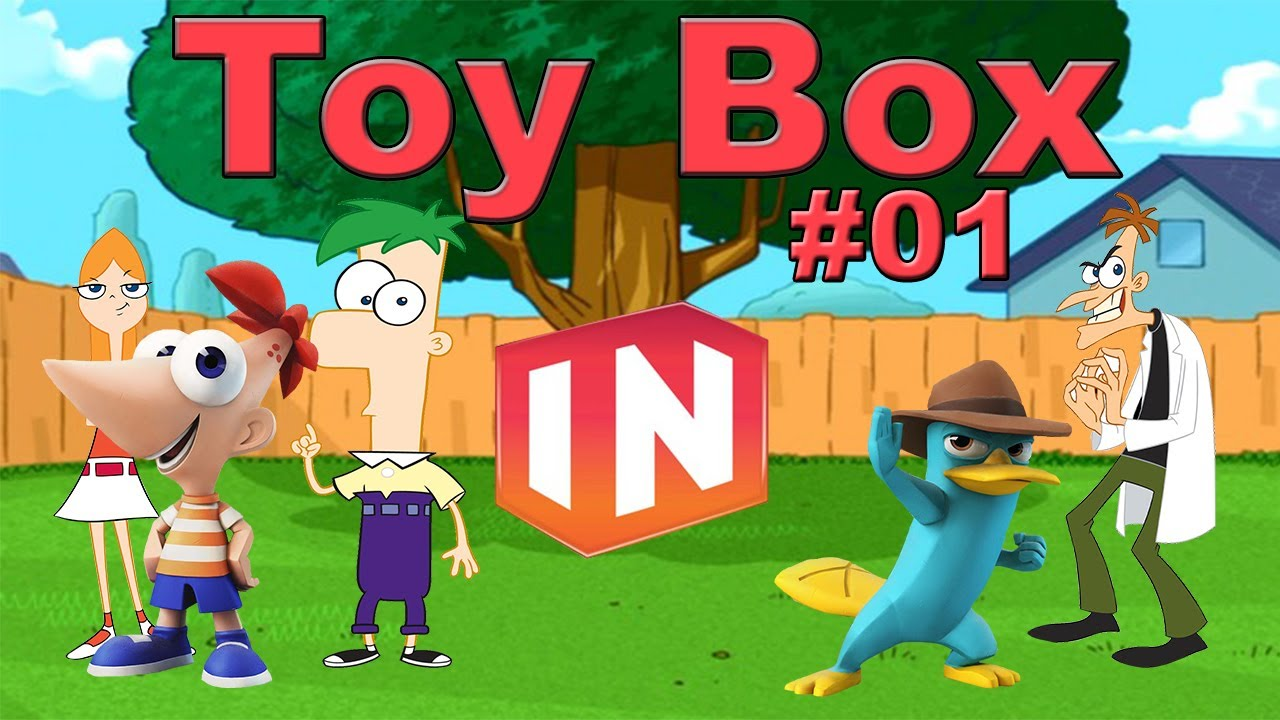 disney infinity phineas and ferb