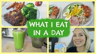 WHAT I EAT IN A DAY WHEN I