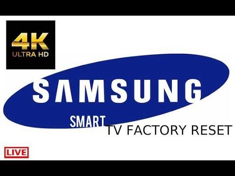SAMSUNG LED SMART UHD 4K TV FACTORY RESET 2018
