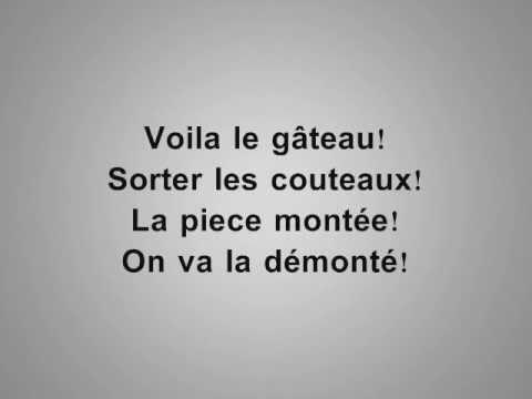 Jalal El Hamdaoui  - Voila Le Gâteau (Audio 15 - With Lyrics)