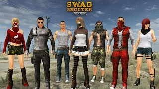 Swag Shooter - Online & Offline Battle Royale  Game - Android Gameplay