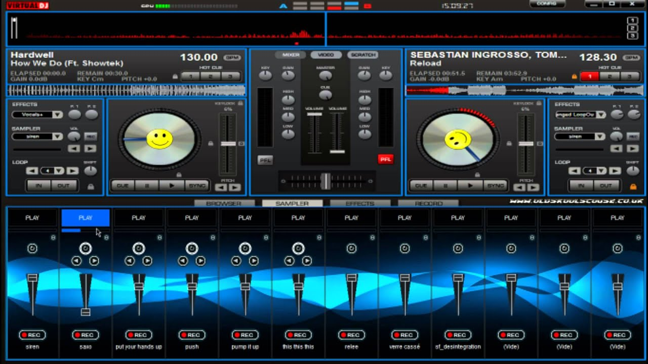 Tutoriel virtual dj apprendre mixer n 1 les bases 1 - Table de mixage virtuel a telecharger gratuitement ...