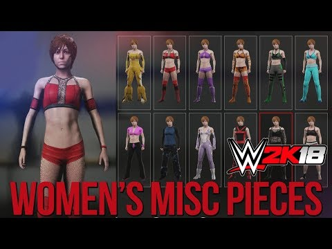 WWE 2K18 Women's Creation Suite: Makeup, Nails & Templates