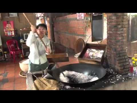 how to make puffed rice without oil