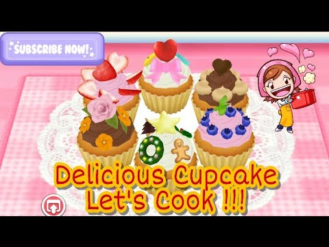 """Let't Cook Cupcake in COOKING MAMA GAME - Cooking Game For Kids """"Android ios Free Game Vidio"""""""