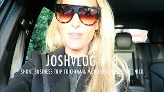 JOSHVLOG #18   MIJN NIEUWE ZONNEBRIL   Short business trip to China & Mijn eerst kerst met Nick