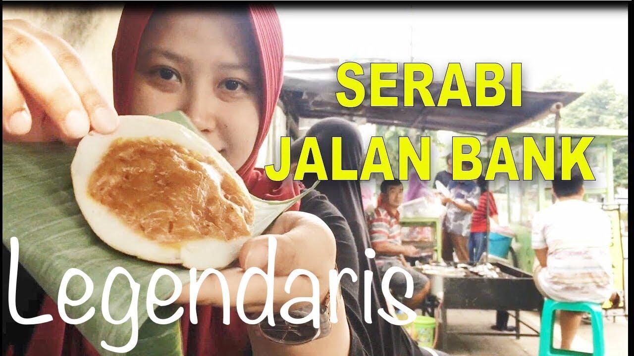 Makan Serabi Legendaris Di Jalan Bank Purwokerto Kulinermudik Youtube