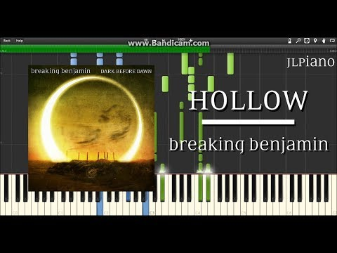 Hollow - Breaking Benjamin (Synthesia Piano Solo) *SHEET MUSIC*