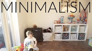 MINIMALISM SERIES | TOY STORAGE ORGANISING AND DECLUTTERING