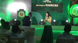India's best MC Reena Dsouza hosting for Wrigley's Doublemint Launch 2016 - Contact@reenadsouza.com