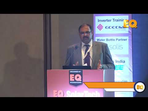 Pradeep Menon, Head –Technical and Strategy – Renewables, Havells  at EQ SolarTech Conference