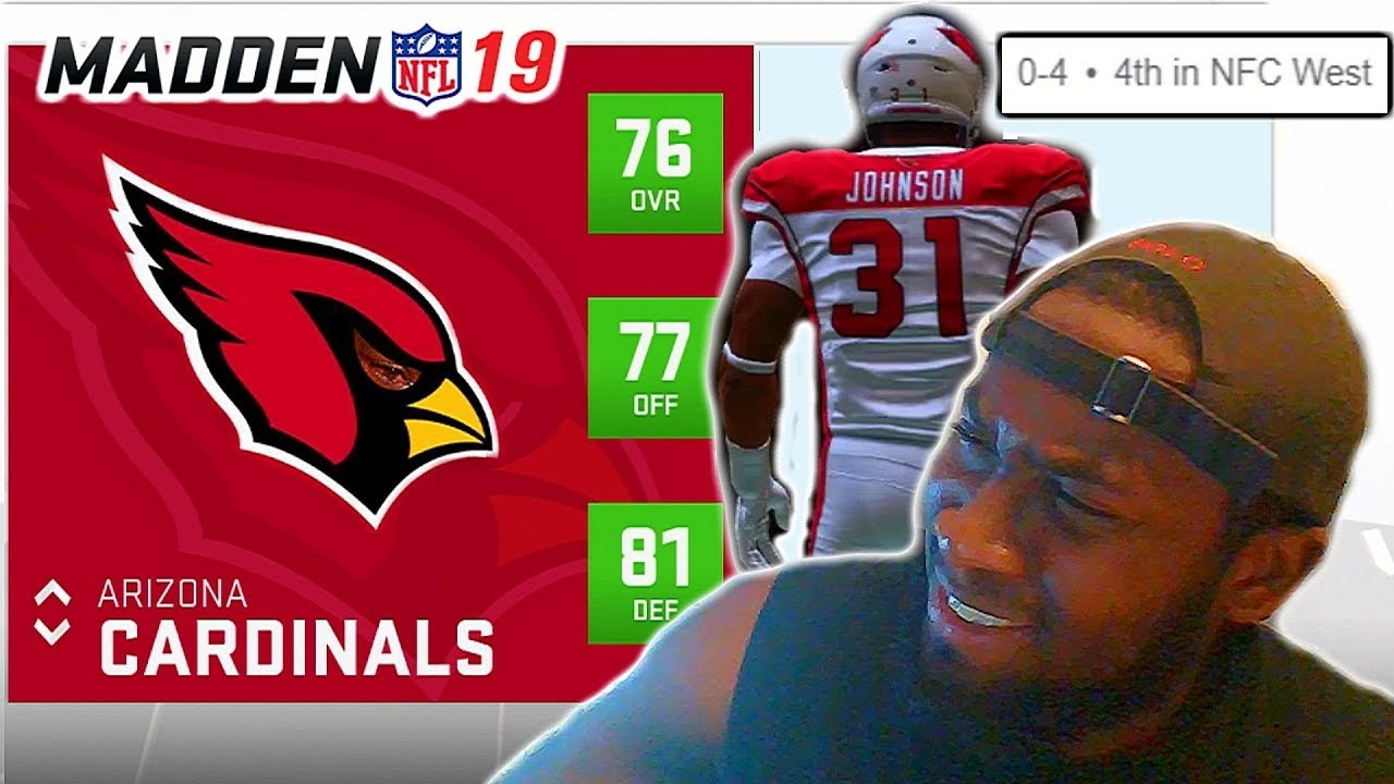 MY TOUGHEST CHALLENGE YET! TRYING TO GET THE ARIZONA CARDINALS THEIR 1ST WIN! Madden 19 Online H2H
