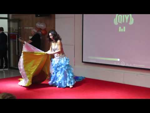 Mrs Globe 2015 - Mrs Borneo's Perfomance at Charity Home
