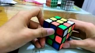 凌羽的魔術方塊教學 速解 第一 二層速解